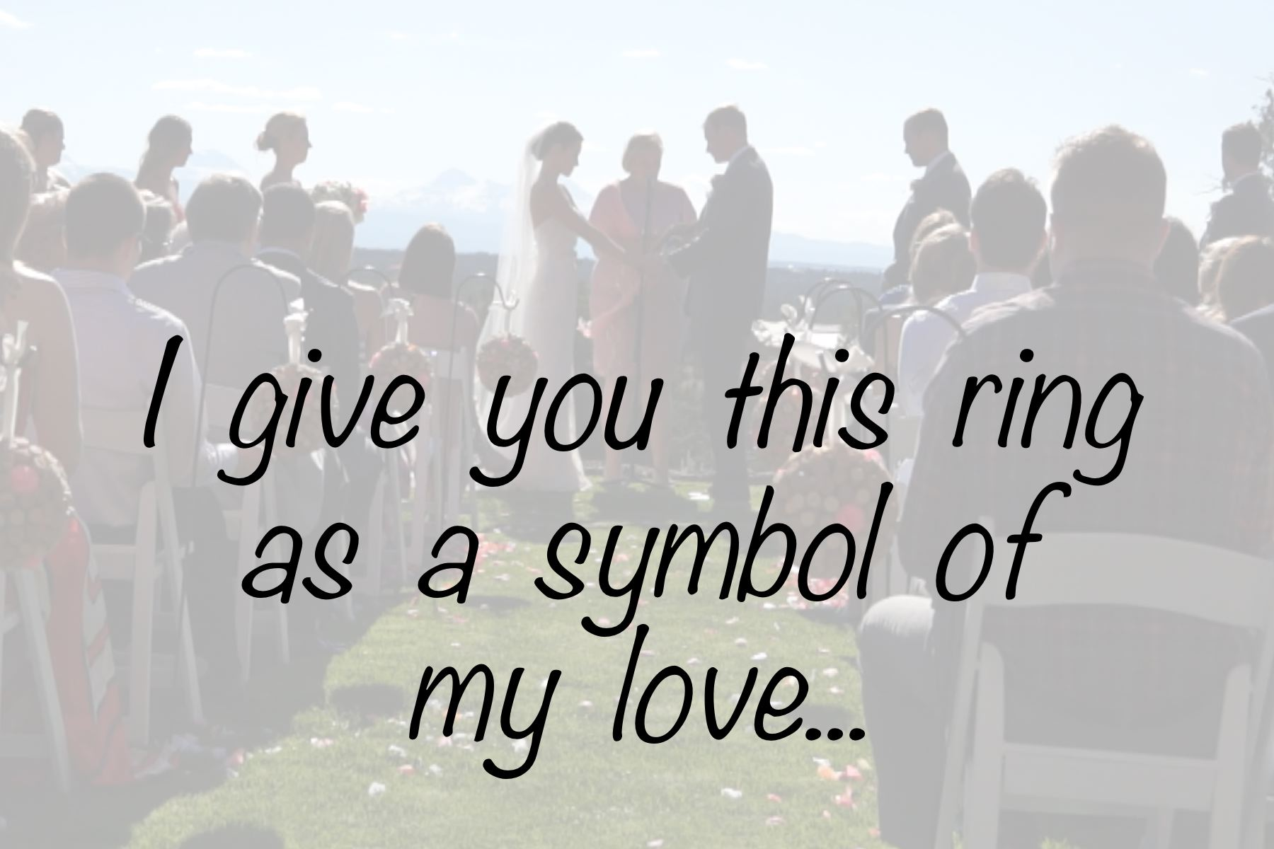 Vows The Heart Of Your Wedding Ceremony